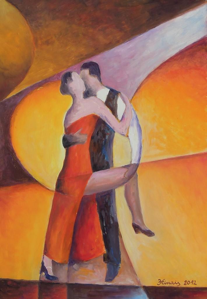tango - Jan Hinais - kubismus
