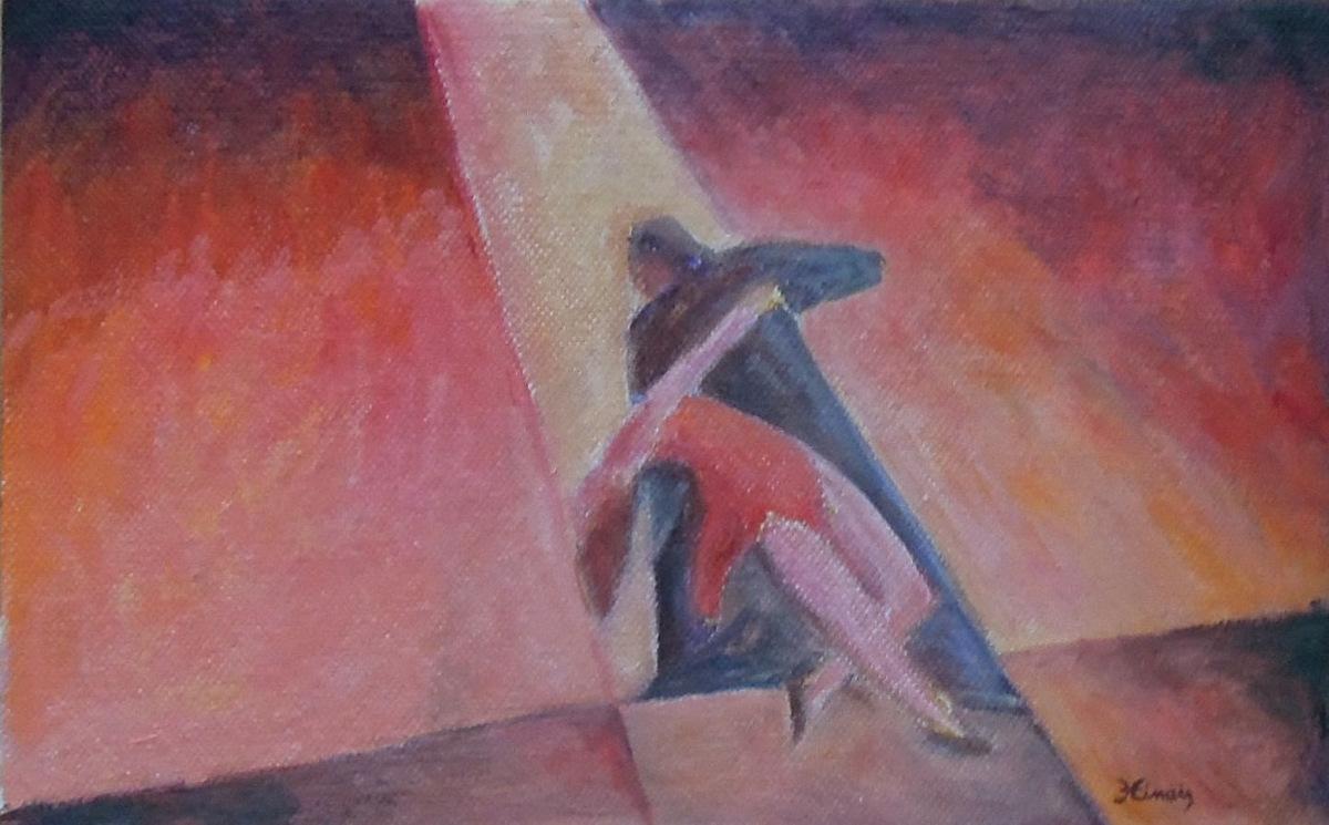 tango III - Jan Hinais - kubismus