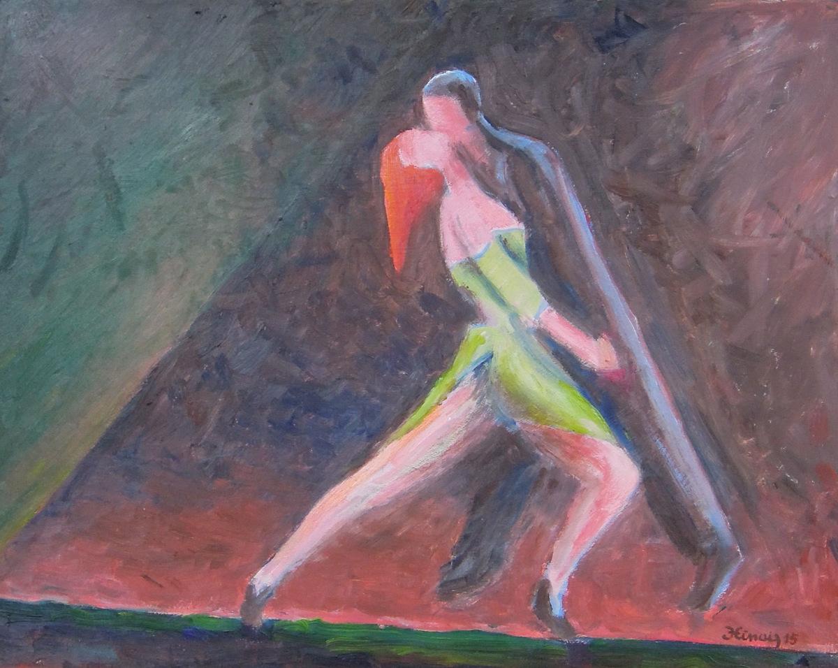 tango IV - Jan Hinais - kubismus