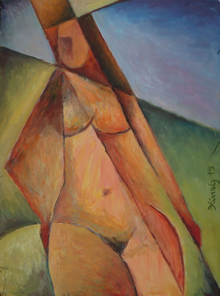 nána - Jan Hinais - kubismus
