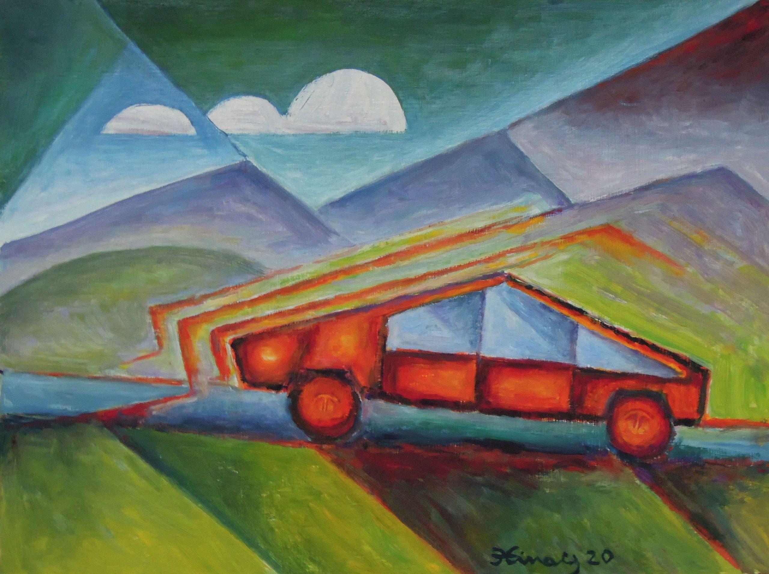 tesla car - Jan Hinais