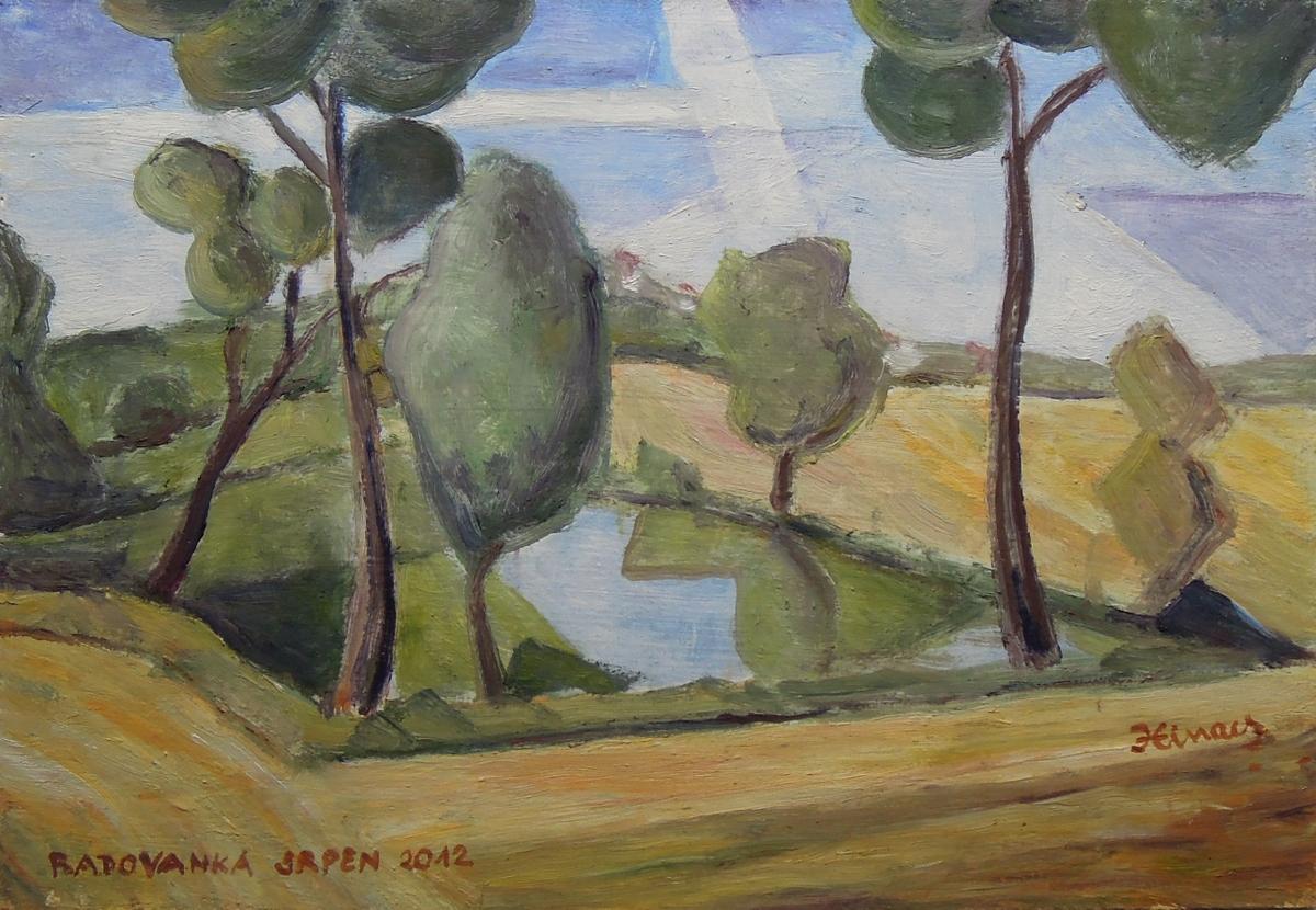 radovanka - Jan Hinais - kubismus